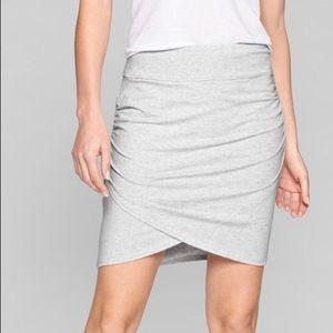 Athleta women's kickback skirt gray small